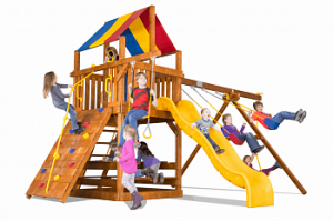 Игровый комплексы Rainbow Play Systems - Циркус Клубхаус 2020 II Тент (Circus Clubhouse 2020 Package II RYB)